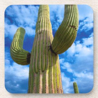 Dessous-de-verre Portrait de cactus de Saguaro, Arizona