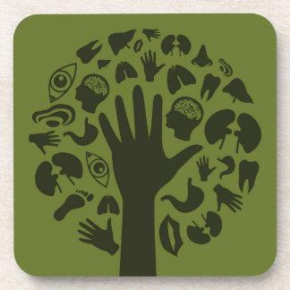 Dessous-de-verre Remettez un tree3
