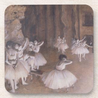 Dessous-de-verre Répétition de ballet d'Edgar Degas   sur l'étape,