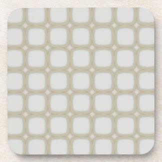 Dessous-de-verre Rétros carrés arrondis de coquille d'oeuf