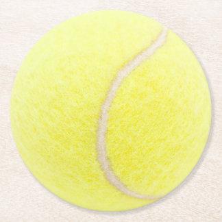 Dessous-de-verre Rond En Papier Balle de tennis