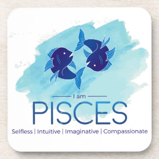 Dessous-de-verre Signe de zodiaque de Poissons