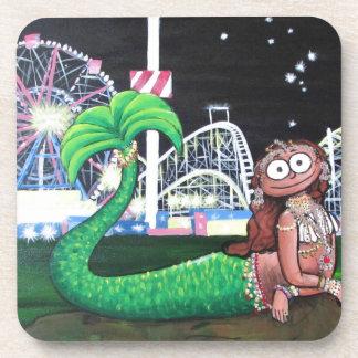 Dessous-de-verre Sirène de Coney Island
