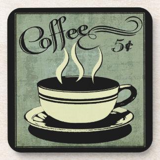 Dessous-de-verre Tasse de cinq cents de café