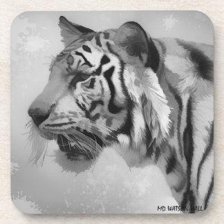 Dessous-de-verre Tigre - 2 fantomatiques