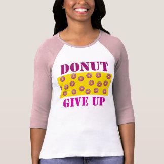 Dessus de réservoir des femmes de beignet t-shirt