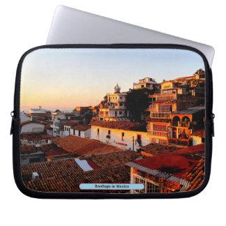 Dessus de toit au Mexique Protection Pour Ordinateur Portable
