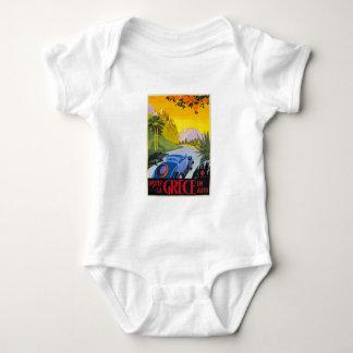 Destination : T-shirt de nourrisson de Hong Kong