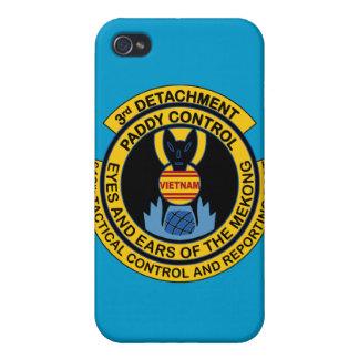 Détachement 619th de contrôle de paddy 3ème coques iPhone 4