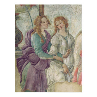 Détail de Vénus et des grâces Carte Postale