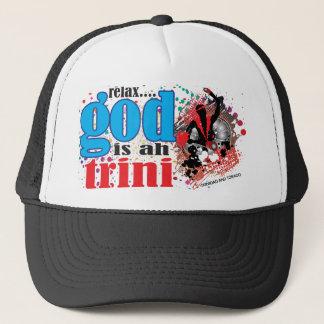 Détendez Dieu est oh casquette de Trini