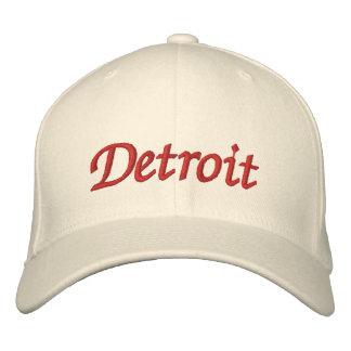 Detroit Casquette Brodée
