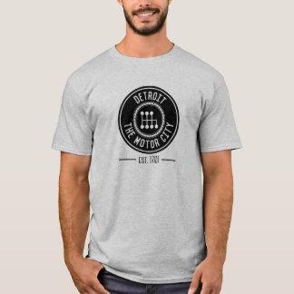Detroit, le T-shirt de ville de moteur