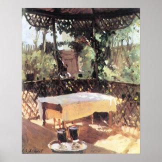 Deux verres de vin par Sargent, impressionisme