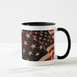 Deuxième tasse de café patriotique d'amendement