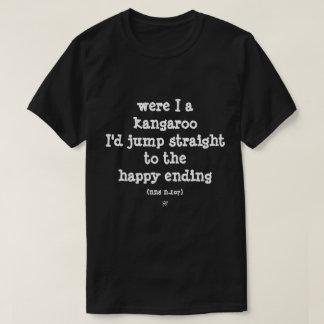 devise absurde de kangourou t-shirt