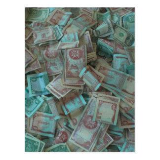 Devise du Trinidad Carte Postale