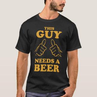 Deze Kerel vergt een T-shirt van het Bier