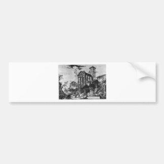 Di Roma de Vedute par Giovanni Battista Piranesi Autocollant De Voiture