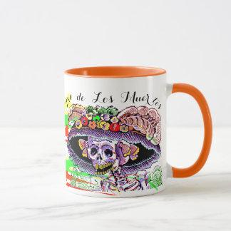 Dia de Los Muertos Day de la tasse morte de