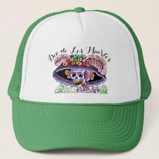 Dia de Los Muertos/jour du casquette mort de