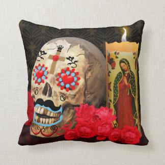 Dia de los Muertos Pillow Coussin Décoratif
