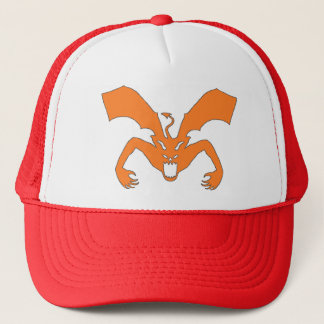 Diable orange casquette