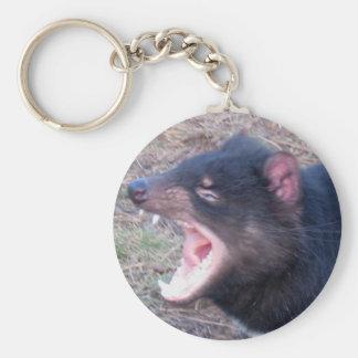 Diable tasmanien - porte - clé porte-clé rond