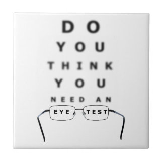 Diagramme d'essai d'oeil carreau