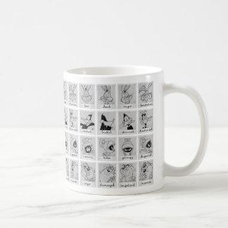 Diagramme LOONEY d'émotion de caractère de TUNES™ Mug