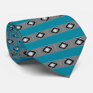 Diamants avec des bandes cravate