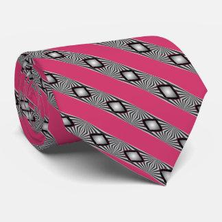 Diamants avec des liens de bandes cravate