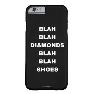 diamants fades fades de chaussures coque barely there iPhone 6