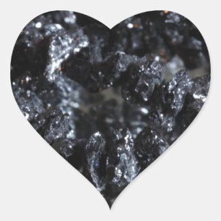 Diamants noirs de Carbonados Sticker Cœur