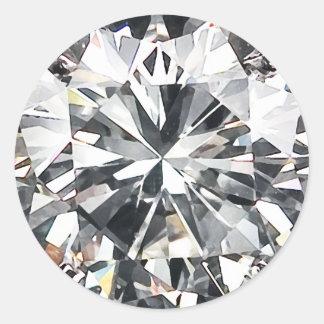 Diamants Sticker Rond