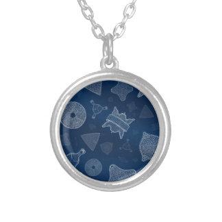 Diatomées - vie marine microscopique collier