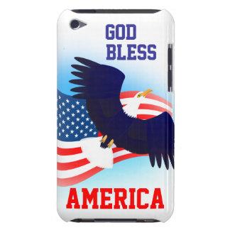 Dieu bénissent le cas de contact de l'Amérique Coques iPod Touch