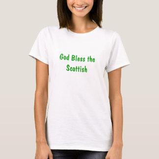 Dieu bénissent les Écossais T-shirt