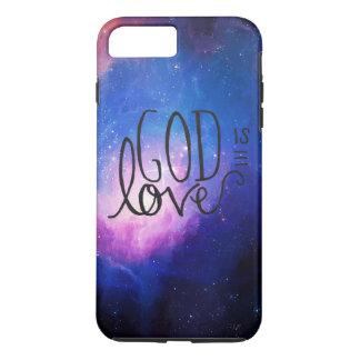 Dieu est cas de téléphone d'amour coque iPhone 7 plus