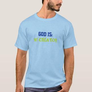 Dieu est mon créateur t-shirt