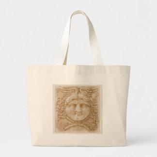 Dieu grec Hermes DÉCRIVENT l'image antique de Herm Sac En Toile Jumbo