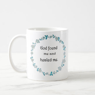 Dieu m'a trouvé tasse