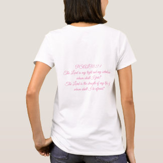 Dieu obtenu votre dos - T-shirt de dames du psaume