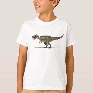 Dinosaure de Tyrannosaurus de T-shirt d'enfants