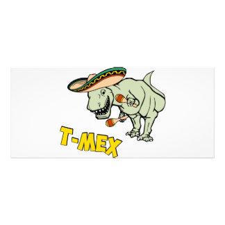 Dinosaure mexicain de Tyrannosaurus de T-Mex T-Rex Cartes Doubles