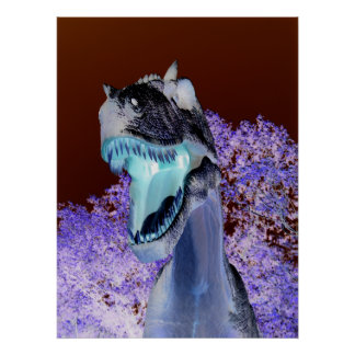 Dinosaure T-Rex Poster