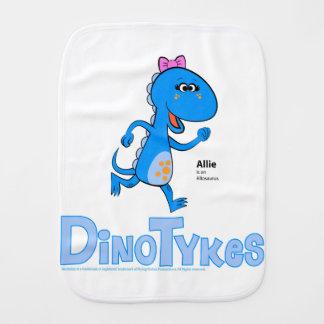 Dinotykes Allie est un Allosaurus. Tissu de rot Linge De Bébé