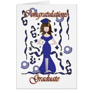 Cartes félicitations pour diplôme personnalisables