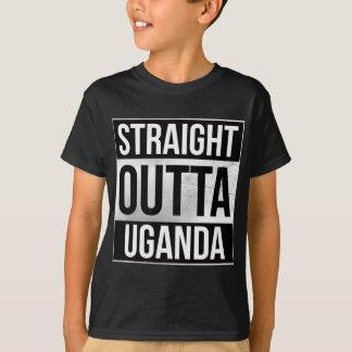 Directement hors du T-shirts de l'Ouganda