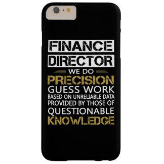 DIRECTEUR DE FINANCES COQUE BARELY THERE iPhone 6 PLUS